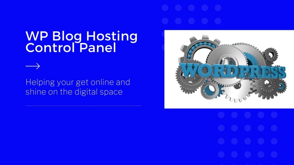 WP-Blog-Hosting-Control-Panel