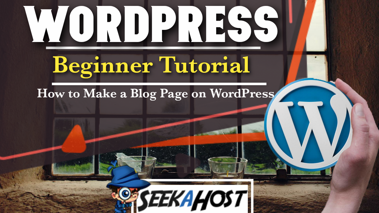 how to make a blog page on wordpress