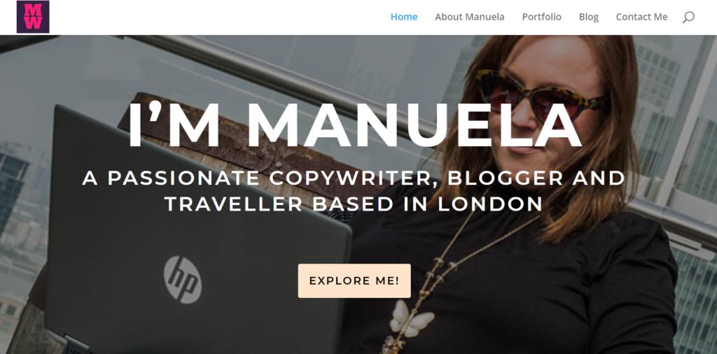 divi-theme-for-copywriter-blog