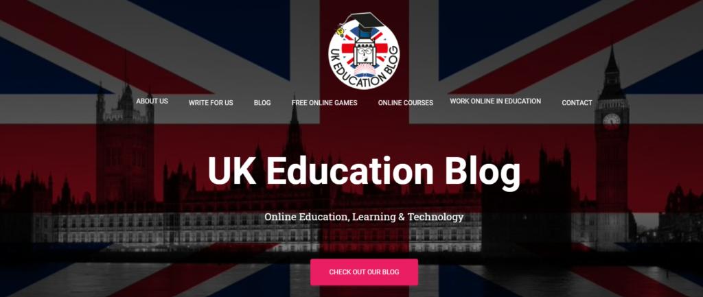 education-blog-using-hestia-wordpress-theme