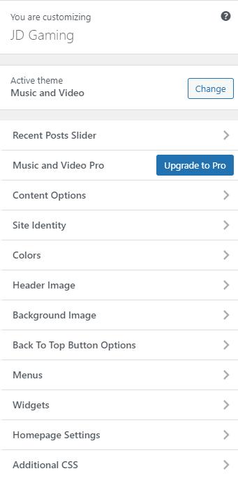 How to Customize Theme In WordPress