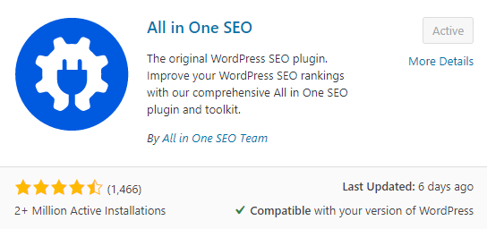 How to Install All in One SEO Plugin in WordPress