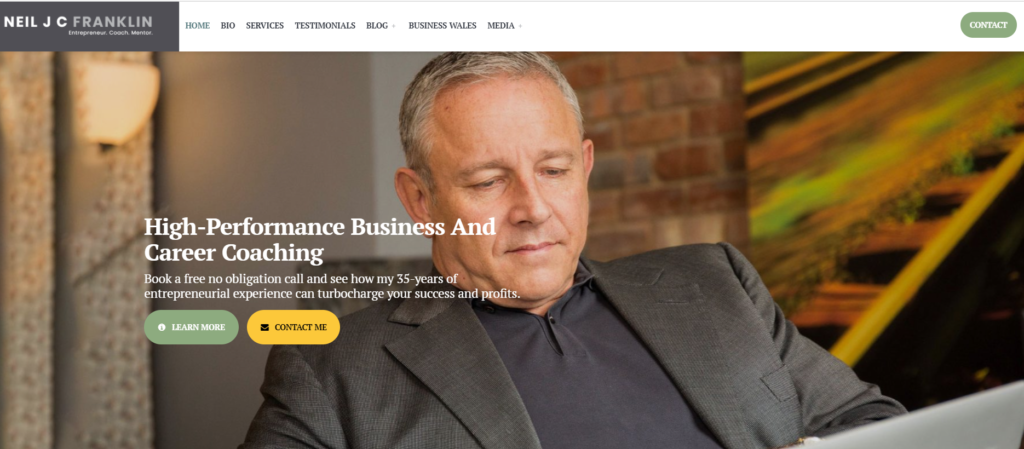 business-consultant-blog-with-blog-page-on-wordpress